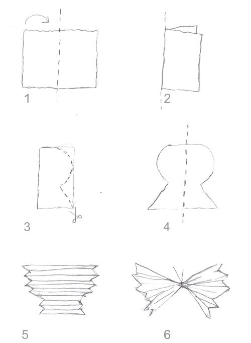 Eco Kids Craft Weatherproof Erflies Mobile Growing Up Creative Folded Paper Erfly Template