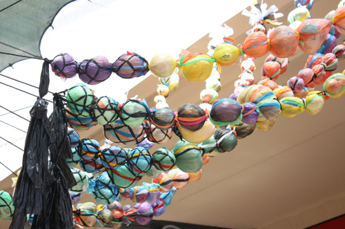 Beads art installation012