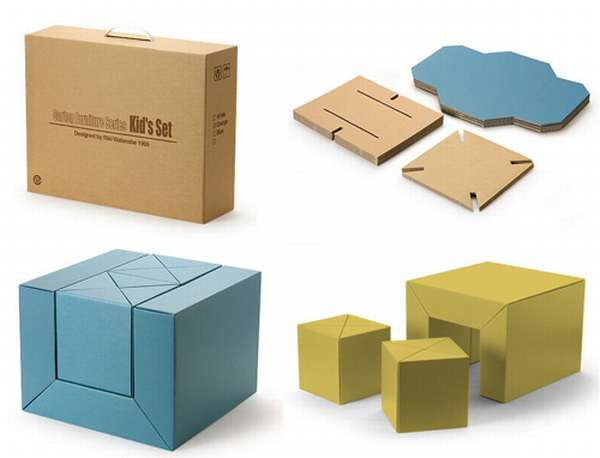 cardboard furniture design. cardboard furniture techniques how to achieve strength growing up creative design